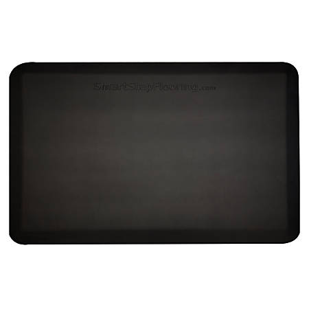 "Smart Step Supreme Premium Anti-Fatigue Mat, 36"" x 24"", Black"