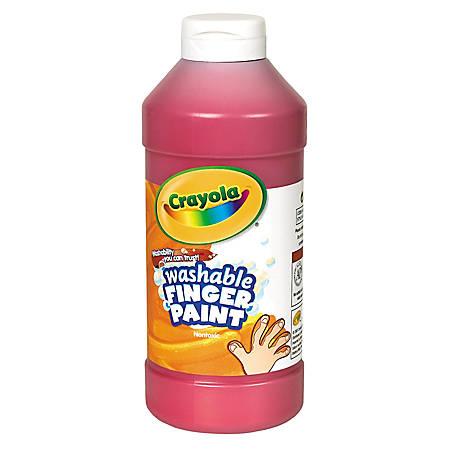 Crayola® Washable Finger Paint, 16 Oz., Red