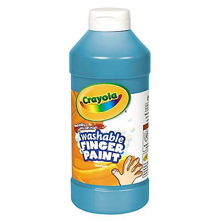 Crayola® Washable Finger Paint, 16 Oz., Blue