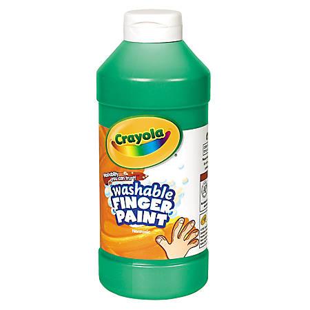 Crayola® Washable Finger Paint, 16 Oz., Green