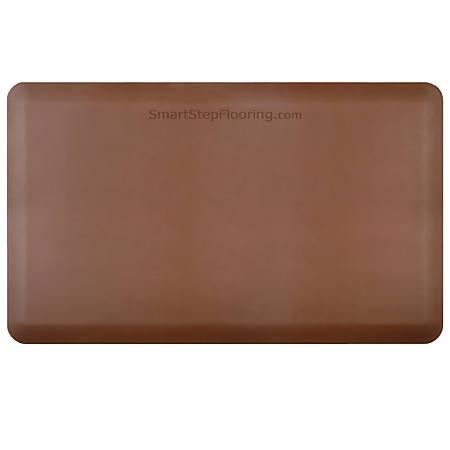 "Smart Step Supreme Premium Anti-Fatigue Mat, 60"" x 36"", Brown"
