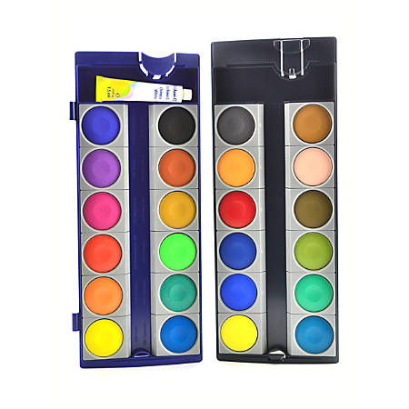 Pelikan Opaque Paint Box Set, 24 Pans