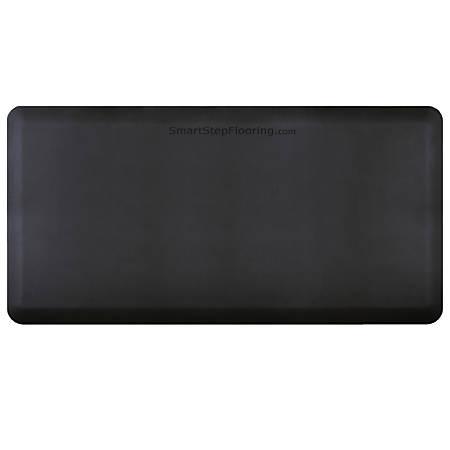 "Smart Step Supreme Premium Anti-Fatigue Mat, 72"" x 36"", Black"