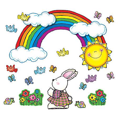 D.J. Inkers Sun 'n Rainbow Bulletin Board Set, Grades Pre-K - 2