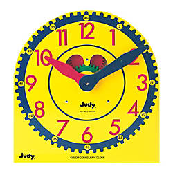 Judy Instructo Color Coded Judy Clock