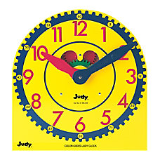 Judy Instructo Color Coded Judy Clock