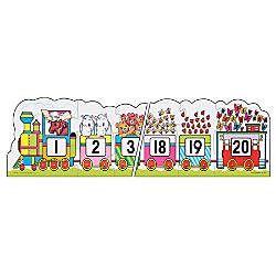 Frank Schaffer Number Train Floor Puzzle