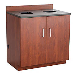 New Office Base Cabinets with Drawers