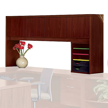 HON® Valido™ Closed Hutch, Mahogany