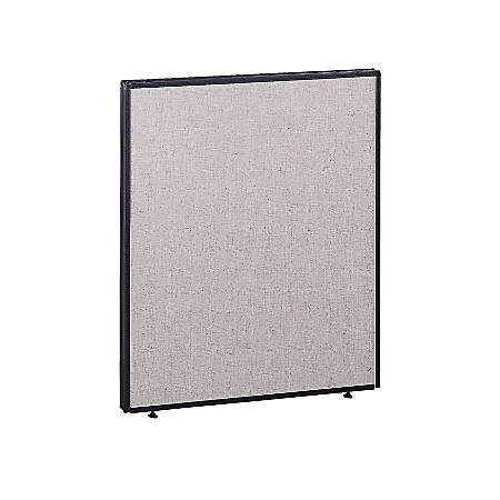"Bush ProPanel™ System, Privacy Panel, 42 7/8""H x 36""W 1 3/4""D, Light Gray/Slate, Standard Delivery Service"
