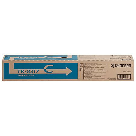 Kyocera Original Toner Cartridge - Laser - High Yield - Cyan - 1 Each