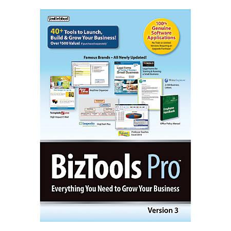 Individual Software BizTools Pro 3, Traditional Disc