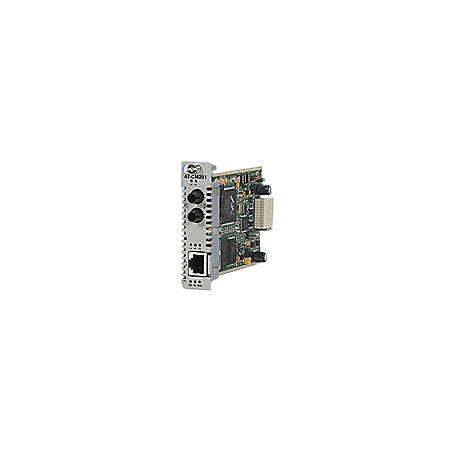 Allied Telesis Converteon AT-CM302 Media Converter - 1 x Network (RJ-45) - 1 x SC Ports - 10/100Base-TX, 100Base-FX - Internal