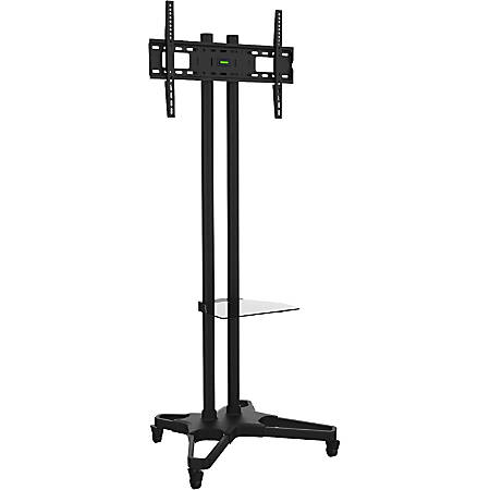 "Ematic Black Mobile TV Stand and Mount for 32""-55"" Screens"