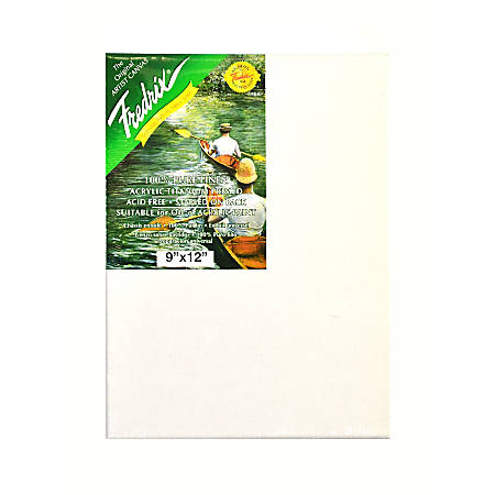 "Fredrix Pro Belgian Pre-Stretched Linen Canvas, 9"" x 12"" x 7/8"""