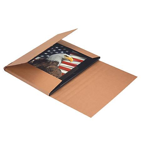 "Office Depot® Brand Jumbo Easy Fold Mailers, 20"" x 16"" x 6"", Kraft, Pack Of 20"