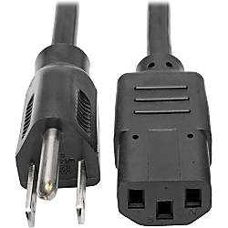Tripp Lite 15ft Computer Power Cord
