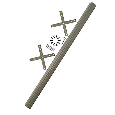 Bush ProPanel™ System 4-Way Connector Kit, Taupe/Tan, Standard Delivery Service