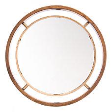Zuo Modern Floating Round Mirror 23