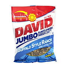 David Jumbo Sunflower Seed Pouches Buffalo