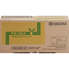 Kyocera TK 562Y Original Toner Cartridge