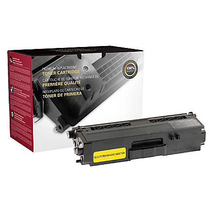 Clover Imaging Group 201061P (Brother® TN339Y) Super High-Yield Remanufactured Yellow Toner Cartridge
