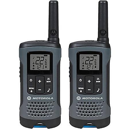 Motorola Talkabout T200 Two-way Radio - 22 Radio Channels - 22 x GMRS/FRS,  UHF - Upto 105600 ft - Auto Squelch, Keypad Lock, Timer - AA - Nickel Metal
