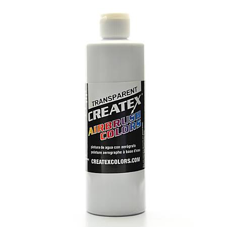 Createx Airbrush Colors, Transparent, 16 Oz, White