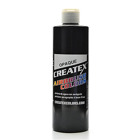 Createx Airbrush Colors, Opaque, 16 Oz, Black