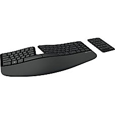 Microsoft Sculpt Ergonomic Wireless Keyboard Black