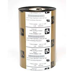 Zebra 5586 05586BK11045 Wax Resin Black