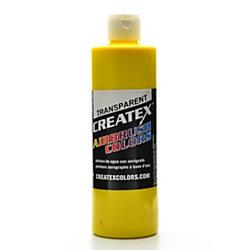 Createx Airbrush Colors, Transparent, 16 Oz, Brite Yellow