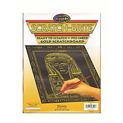 Scratch Art Scratch Brite Scratchboards 8