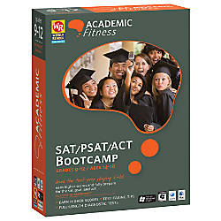 Academic Fitness SATPSATACT Bootcamp 20 For