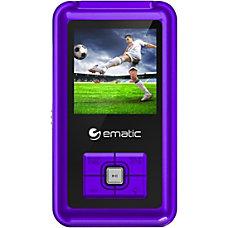 Ematic EM208VID 8 GB Purple Flash