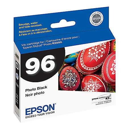 Epson® 96, (T096120) UltraChrome™ K3 Black Ink Cartridge