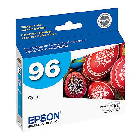 Epson® 96, (T096220) UltraChrome™ K3 Cyan Ink Cartridge