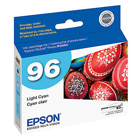 Epson® 96, (T096520) UltraChrome™ K3 Light Cyan Ink Cartridge