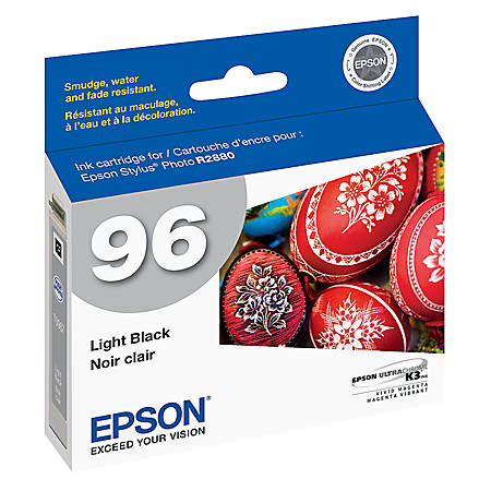 Epson® 96, (T096720) UltraChrome™ K3 Light Black Ink Cartridge