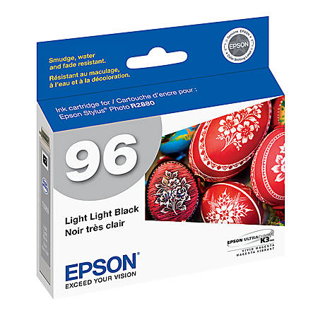 Epson® 96, (T096920) UltraChrome™ K3 Light Black Ink Cartridge