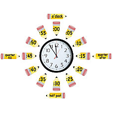Eureka Telling Time Bulletin Board Set