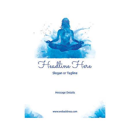 Custom Flyers, Vertical, Meditation