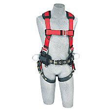 Protecta PRO Construction Harness MediumLarge BlackRed