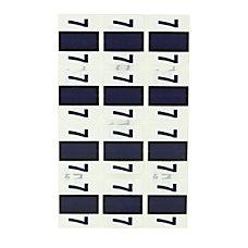 Pendaflex Color Coded End Tab Numeric