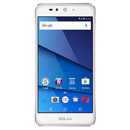 BLU Grand XL LTE G0030WW Cell Phone, Rose Gold, PBN201323