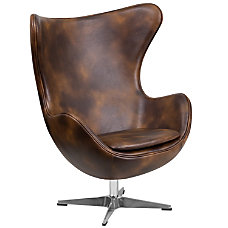 Flash Furniture Swivel Egg Chair With