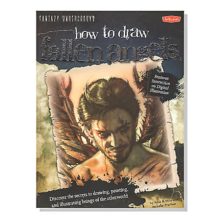 Walter Foster How To Draw Fallen Angels By Mike Butkus And Merrie Destefano