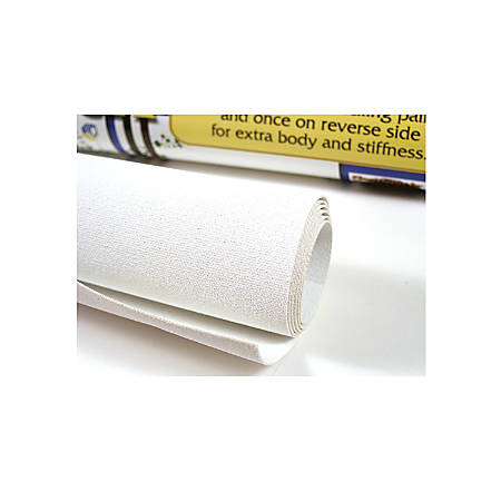 Fredrix Primed Floorcloth Canvas Roll, 2' x 3'