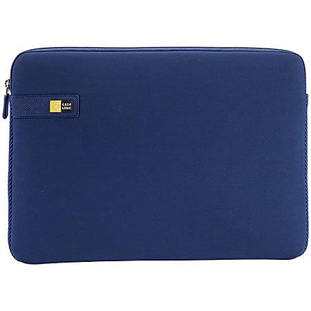 "Case Logic® LAPS Sleeve For 15.6"" Laptop, Dark Blue, LAPS-116"