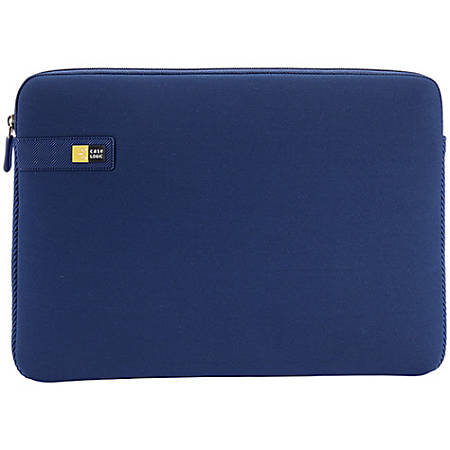 "Case Logic® LAPS Sleeve For 15.6"" Laptop, Dark Blue, LAPS-116"